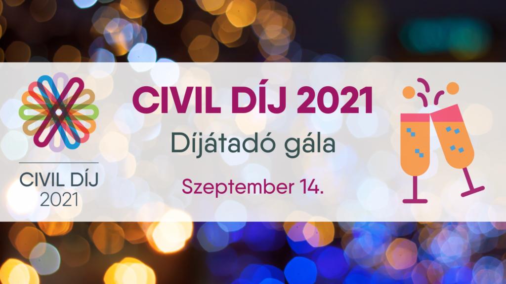 Civil Díj 2021 gála